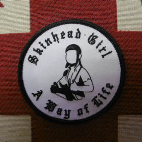 Skinhead Girl Patch
